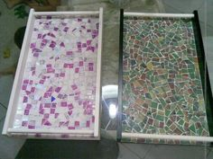 cds reciclados Dyi, Stained Glass, Home And Garden, Crafty, Frame, Creative, House, Gisele, Metals