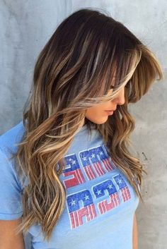 Style Ideas for Long Hair With Bangs ★ See more: http://lovehairstyles.com/style-ideas-long-hair-with-bangs/