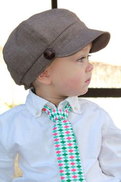 Boy Girl Baby Toddler Newsboy Hat Fall Winter Soft  Material Photography Prop. $25.00, via Etsy.