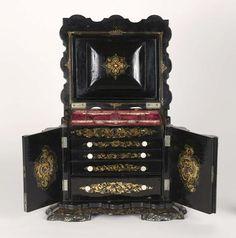 Sewing box 1850's
