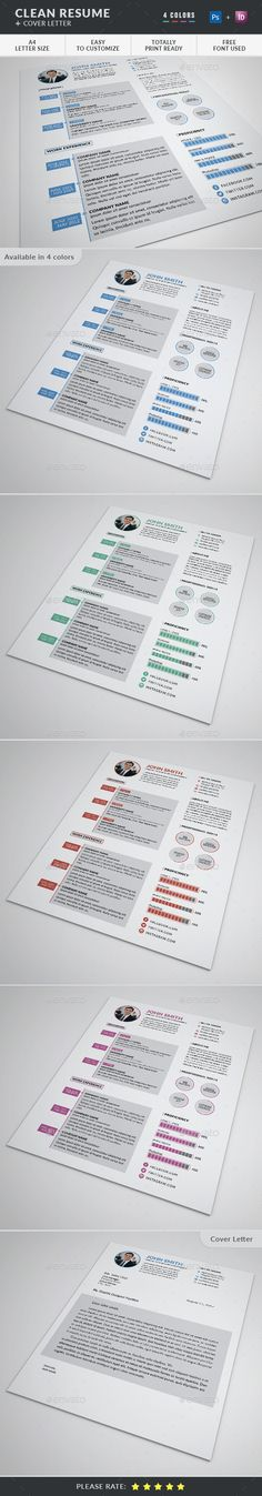 Resume \/ CV, Cover Letter, Portfolio Fonts-logos-icons - cover letters with resume