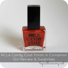 NCLA Candy Coat Polish in Cinnamon Girl Review & Swatches #crueltyfree #ncla #vegan #polish #nailpolish #manicure #rednails #cinnamongirl #candycoat #mattenails