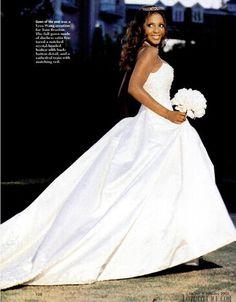 Braxton tamar wedding dress photo
