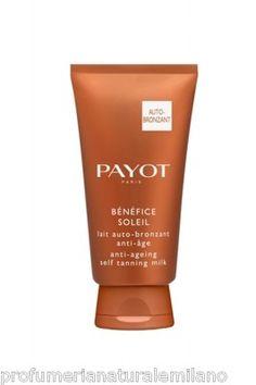 Crema solare autoabbronzante Payot Lait Auto-bronzant Anti-Âge 150 ml