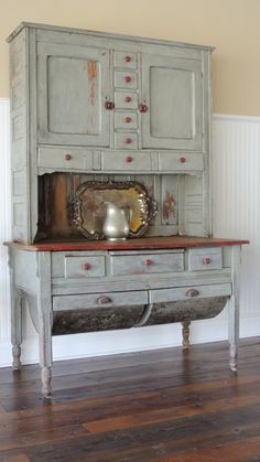 Hey, I found this really awesome Etsy listing at http://www.etsy.com/listing/160231700/possum-belly-hutch-circa-1860
