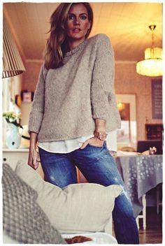 Me Naiset – Blogit   Kalastajan vaimo – Simppeli Suri Handicraft, Pullover, Knitting, Crochet, Long Sleeve, Sleeves, Sweaters, Owl Hat, Tops