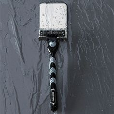 Stainless Steel Razor Holder – The Caveman's Guide Man Cave Bathroom, Door Handles, Stainless Steel, Door Knobs, Door Knob