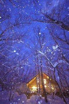 Snow Cabin, Sweden