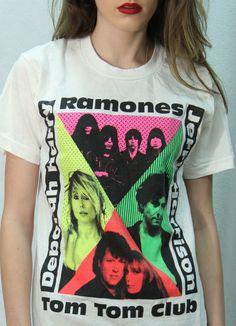 ramones europe 77 t shirt