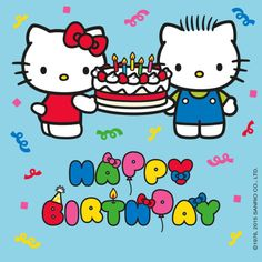 Hello Kitty & Dear Daniel (⌒▽⌒) #happybirthday