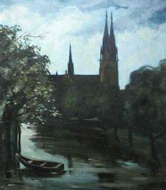 Ernst Nilsson (1892-1937):  Domkyrkan - Augustikvall
