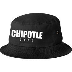 87a0666f3354 Chipotle Gang bucket hat template ( 23) ❤ liked on Polyvore featuring  accessories