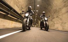 Scarica sfondi Zero SR, biciclette elettriche, 2018 biciclette, motociclisti, strada, superbike