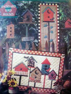 Backyard Bird Houses by Mumm Quilt Pattern     Price: $5.00