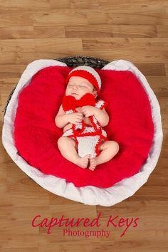 Boy Valentine Outfit Set by LoveMeCozy on Etsy, $20.00
