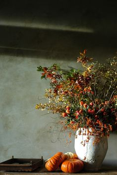 https://flic.kr/p/7fBK1J | autumn arrangement | In the lobby of the Hotel Healdsburg. my goodness, we loved that place.