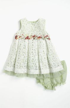 Pippa & Julie Lace Dress & Bloomers  available at #Nordstrom