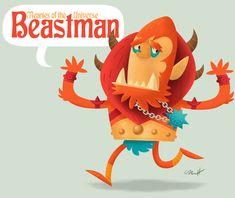 Beastman by ~MattKaufenberg on deviantART