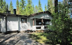 Telkänkolo, Pertunmaa Cabin, House Styles, Outdoor Decor, Home Decor, Decoration Home, Room Decor, Cabins, Cottage, Home Interior Design