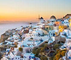No. 10 Santorini, Greece - Most Pinned Travel Photos | Travel + Leisure