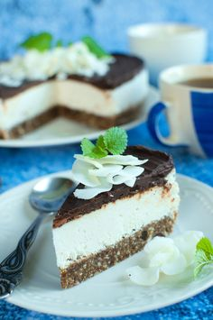 Vegan Cake, Vegan Cheesecake, Snack Recipes, Snacks, Tiramisu, Gluten Free, Pudding, Cooking, Ethnic Recipes