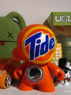 toycutter: Designer Vinyl Toy: Tide Munny