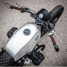 "dropmoto: ""Eye see you . Clean BMW R100 built shared with us by @maccomotors. #dropmoto #builtnotbought #bmw #r100 #r100rs #caferacerporn #caferacerxxx #caferacers #caferacer #vintagemotorcycle """