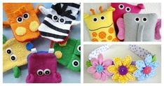 Do you make handmade gifts for kids? Here are 16 cute and easy to sew gifts for kids from Precious Patterns at B-Inspired Mama!