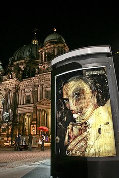 Vermibus based in Berlin, Germany | 19 Street Artists To Keep An Eye On