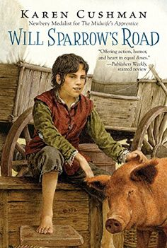 In this historical fiction children's book, we wander from fair to fair with Will Sparrow, who now has no family, no money, and just his wits to succeed.