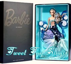 2012 The Mermaid Barbie Doll     Be The First To Get This Very Limited Exclusive BFC Barbie Collector's Doll!    Only 4300 Made Worldwide and SOLD OUT Everywhere!    Brand New In Box     Ships in the Original Mattel Shipper Box and also includes the Spring Collector Catalog, featuring this STUNNING  Mermaid Collector Doll on the Front Cover !    Sure to make waves wherever she goes, this is a stunning collectible doll!
