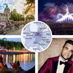 Région d'Hanovre 2017 ; Hanovre – Point de rencontre des nations, des super stars, des équipes lauréates, des artistes et des athlètes du…