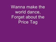 Jessie J ft BoB - price tag lyrics - YouTube