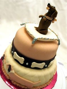dachshund cake!