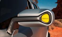 Mercedes-Benz Ener-G-Force Concept design detail G Wagon, Le Manoosh, Preppy Car Accessories, Car Interior Design, Design Cars, Tool Design, Exterior Design, Mercedes Benz G, Car Mirror