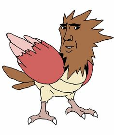 Nicolas Cage's face on all 151 first generation pokemon.