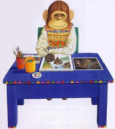 (UK) Gorilla, Willy's Pictures by Anthony Browne (1946-   ). United Kingdom.