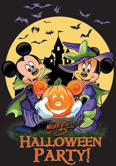 Disneyland Halloween 2019 includes attraction overlays, Halloween food, Disney Halloween character meet and greets, Mickey's Halloween party, and more! Mickey Halloween Party, Halloween Tags, Halloween Clipart, Halloween Pictures, Scary Halloween, Happy Halloween, Minnie Mouse Halloween, Halloween Celebration, Party Pictures