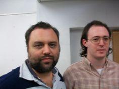 Nazareno (Der.) junto a Sergio Slipak