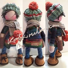 Mesmerizing Crochet an Amigurumi Rabbit Ideas. Lovely Crochet an Amigurumi Rabbit Ideas. Octopus Crochet Pattern, Crochet Dolls Free Patterns, Amigurumi Patterns, Doll Patterns, Hand Crochet, Crochet Stitches, Crochet Baby, Knit Crochet, Crochet Amigurumi
