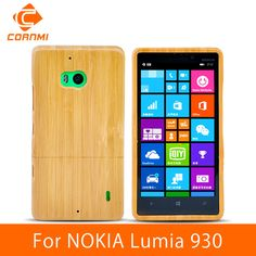 CORNMI For NOKIA Lumia 930 Case Cover Genuine Wood Bamboo Design Cell Phone Cases For NOKIA 930 Covers Hard Back Shell ITH