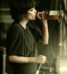 Crystal Castles - I hope she's ok. I have never seen anyone drink that much Jameson in 45 minutes.
