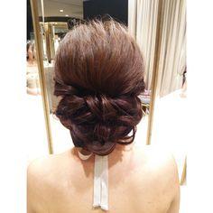 #ヘアアレンジ#ヘアスタイル#ヘアセット#髪型#ウェディング#結婚式#トリートドレッシング #ヘアメイク#リボンカチューシャ#weddinghair #wedding#hair#hairmake #hairarrange#編み込み#bridal#updo