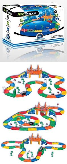 Other Classic Toys 19027: Magic Track Twister Tracks Glow In The Dark Light Up Race Track Bridge Tunel Set -> BUY IT NOW ONLY: $30.95 on eBay!