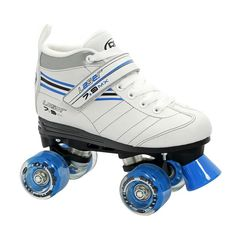 Roller Derby Laser 7.9 Speed Quad Roller Skates - Girls, Multicolor