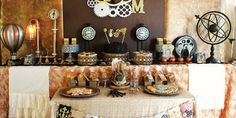 steampunk wedding centerpieces - Google Search