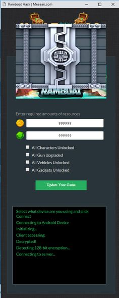 Tested Ramboat Hack Get Free Gems And Coins Ramboat Hack And Cheats Ramboat Hack 2020 Updated Ramboat Hack Ramboat In 2020 Hack Free Money Dude Perfect Cheating