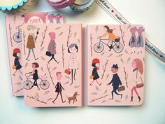 Notebook  Busy Busy  Notebook  by littleatae, €8.00