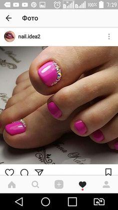 New Shellac Pedicure Toenails Simple Ideas Gel Toe Nails, Shellac Pedicure, Feet Nails, Shellac Nails, Toe Nail Art, Toenails, Pretty Toe Nails, Cute Toe Nails, Funky Nail Art