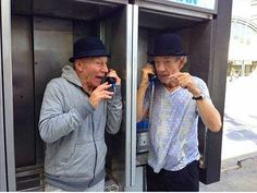 Las mejores fotos de Patrick Stewart e Ian McKellen... Ese dúo entrañable http://www.aullidos.com/imagenes-galeria.asp?id_galeria=183&id=1